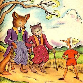 Cuento infantil Pinocho