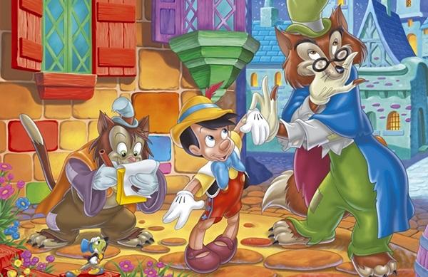 Cuento popular infatil Pinocho